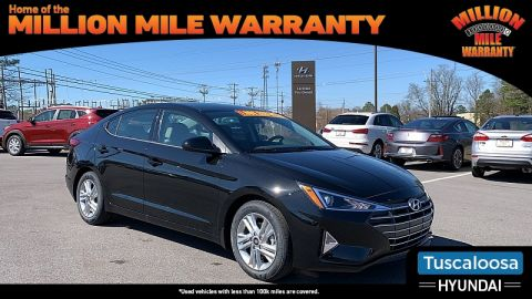 New 2020 Hyundai Elantra 4d Sedan SEL Front Wheel Drive 4dr Car